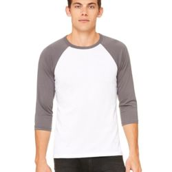 Unisex Three-Quarter Sleeve Baseball T-Shirt Thumbnail